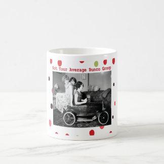 not your average bunco group coffee mug