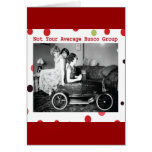 not your average bunco group greeting card