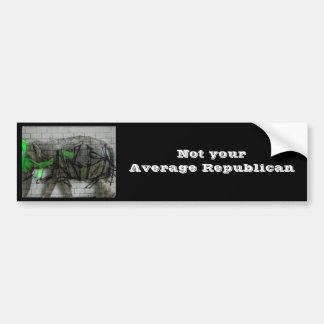 Not your Avg Republican Bumper Sticker