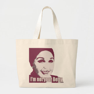 Not Your Betty Sweet Large Tote Bag