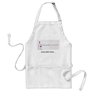 Not Your Mom's Test Kitchen Apron