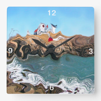 Not Your Normal Nubble Light Wall Clock