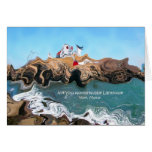 Not Your Normal Nubble Lighthouse Greeting Card