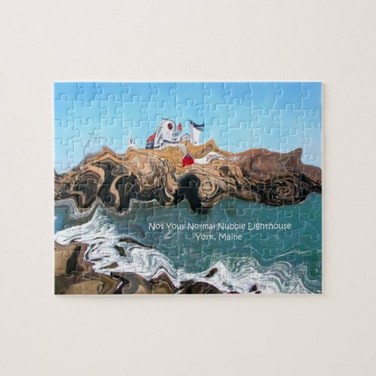 Not Your Normal Nubble Lighthouse Puzzle