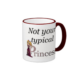 Not your typical Princess -chibi style-mug Ringer Mug