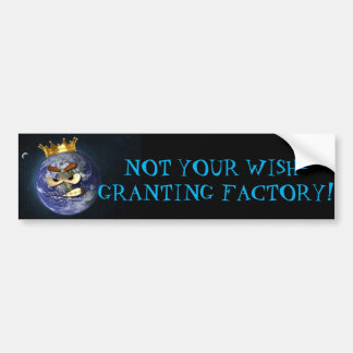 Not your wish granting factory sticker