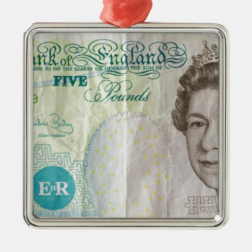 nota £5 - horizontal ornato