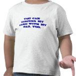 Nota al cuidado de niños camisetas