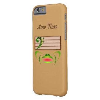 Nota baja funda barely there iPhone 6