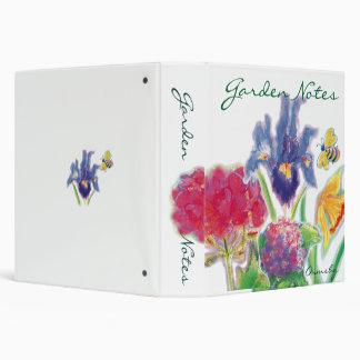 """Nota-cuaderno del jardín carpeta 1 1/2"""""""