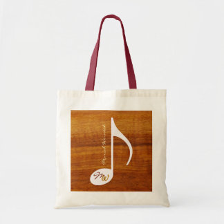 nota de encargo de la música sobre la madera