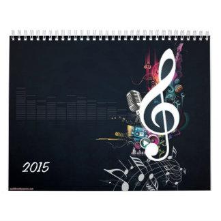 Nota de la hendidura calendario