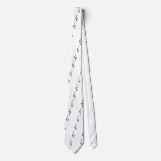 Nota de la hendidura del diamante corbatas personalizadas