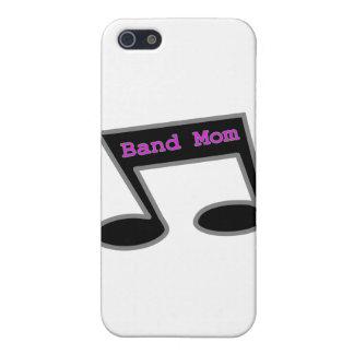 Nota de la música de la mamá de la banda iPhone 5 protector