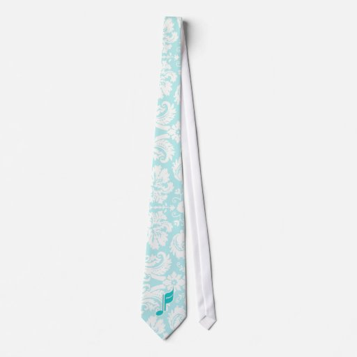 Nota de la música del trullo corbata personalizada