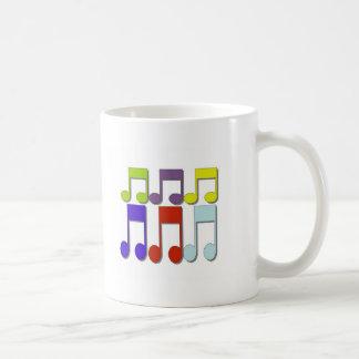 Nota de Musicial Tazas