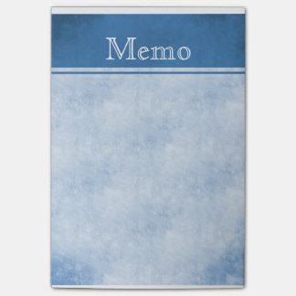 Nota de post-it de Texured del vintage: Azul Notas Post-it®
