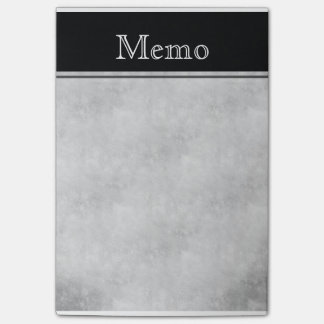 Nota de post-it de Texured del vintage: Negro Notas Post-it®