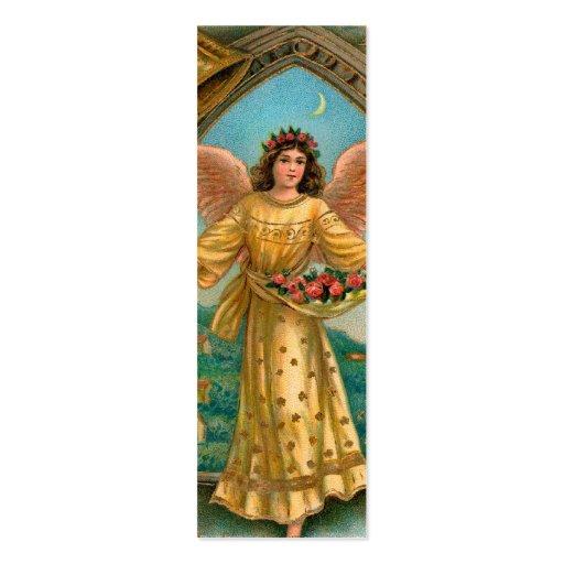 Nota del AMOR de las bendiciones del ángel Plantilla De Tarjeta De Visita