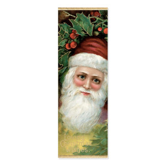 Nota del AMOR del navidad del vintage o etiqueta d Tarjetas De Visita