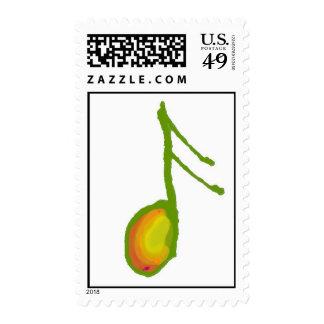 nota del color sellos