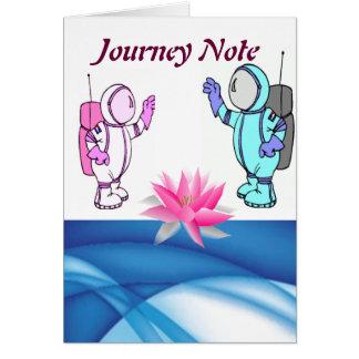 Nota del viaje de Nanu Tarjeton