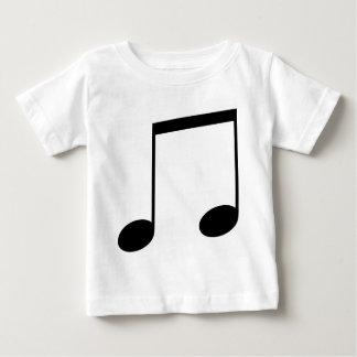 Nota doble de la música t-shirts