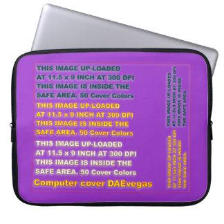 Nota importante de los casos del color de la manga portátil