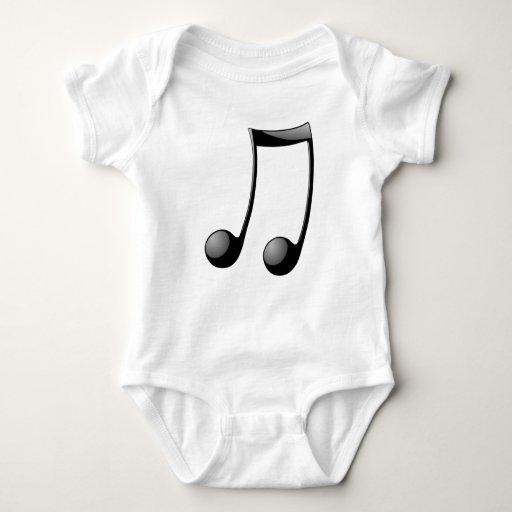 Nota musical body para bebé