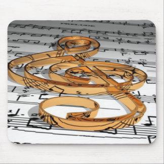nota musical mousepad