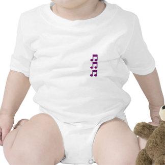 Nota musical trajes de bebé