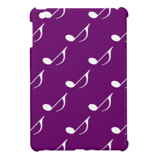 Nota musical sobre cualquier fondo del color iPad mini cárcasas