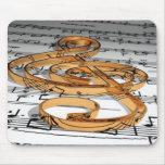 nota musical tapetes de ratones