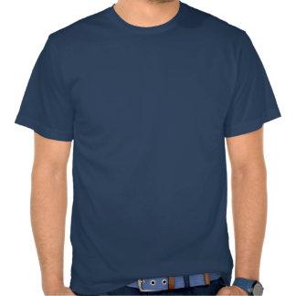 nota musical yin-Yang Camisetas