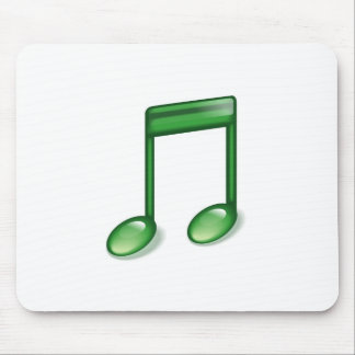 Nota verde de la música
