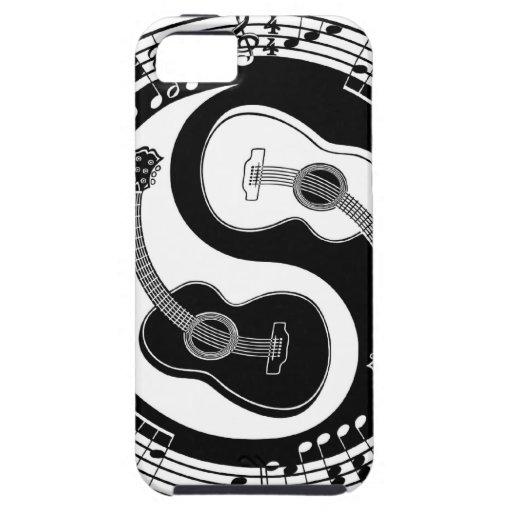Notación de Yin Guit iPhone 5 Case-Mate Carcasa
