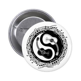 Notación de Yin Guit Pin Redondo 5 Cm