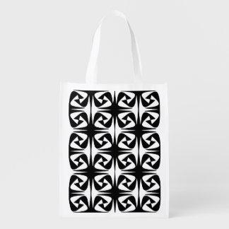 Notan Grocery Bag