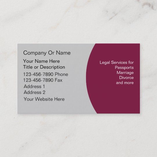 notary business cards - Notary Business Cards