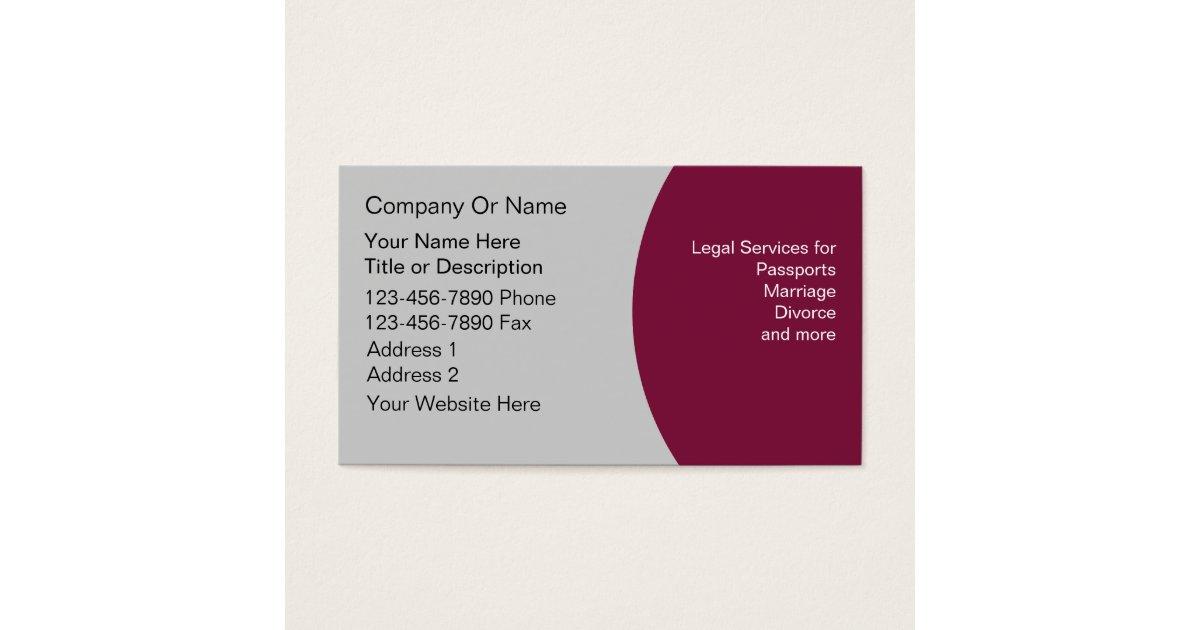 Notary Business Cards   Zazzle.com