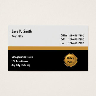 Notary Business Cards_2 Business Card