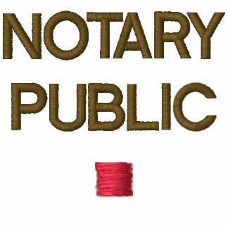 NOTARY EMBROIDERED POLO SHIRT