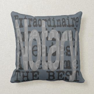 Notary Extraordinaire Throw Pillow