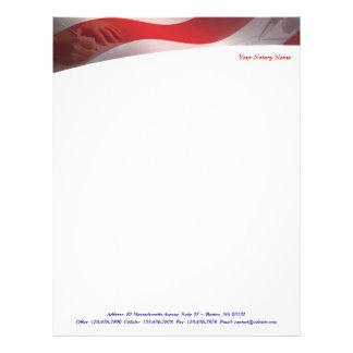 Notary Letterhead
