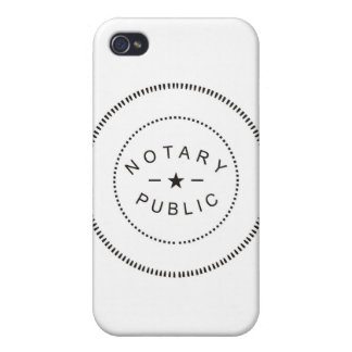 NOTARY PUBLIC ACCESSORIES iPhone 4/4S COVERS