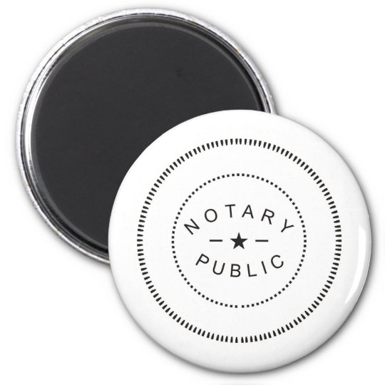 NOTARY PUBLIC ACCESSORIES MAGNET