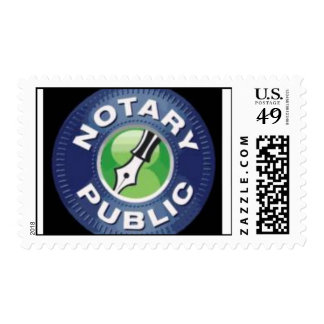 NOTARY PUBLIC POSTAGE STAMP