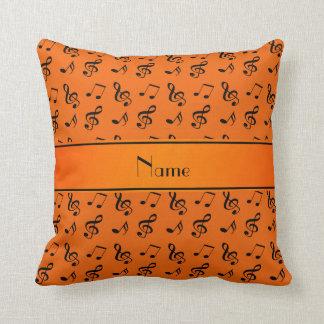 Notas anaranjadas conocidas personalizadas de la m