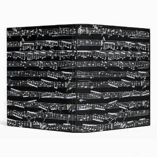 """Notas blancos y negros de la música carpeta 1"""""""