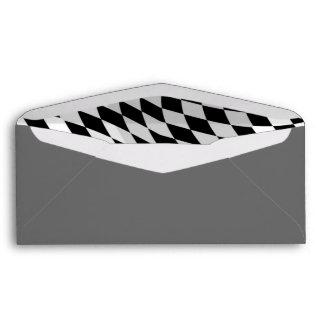 Notas de correo grises del negocio de la escuela d